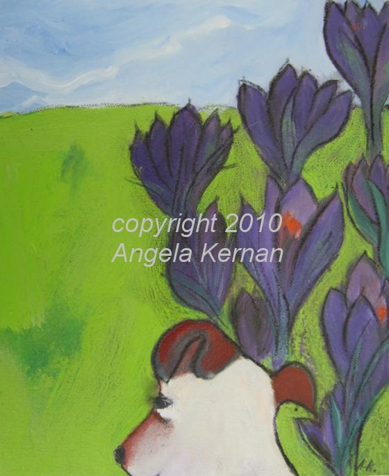 'Studying the Crocus'
